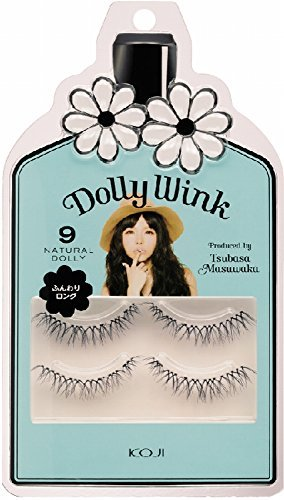 Koji Dolly Wink False Eyelashes #9 Natural Dolly by Koji