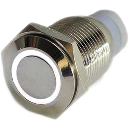 Hotsystem 16mm 12v Selbsthaltender Schalter Metall Led Elektronik