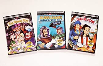 Classic Animation Collection #04: Treasure Island, 20,000 Leagues Under the Sea, King Solomon's Mines