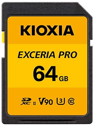 Kioxia Exceria Pro U3 V90 - Tarjeta Sd (256 Gb)