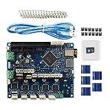 BCZAMD 3D-Drucker-Controller-Karte geklont Neueste Version Duet 2 WiFi V1.04 Upgrades Motherboard 32-Bit-Mainboard Kompatibel mit Anycubic Wanhao Ender 3 Lulzbot Prusa Die meisten CNC-Druckermaschinen