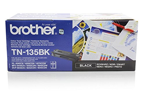 Original Brother TN-135BK Toner Black für Brother DCP-9042 CN