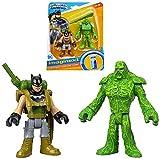 Batman & Swamp Thing DC Super Friends Imaginext Figures 2.5'