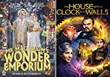 Modern Magical Children's Masterpieces: Mr. Magorium's Wonder Emporium + The House With A Clock In Its Walls DVD Bundle
