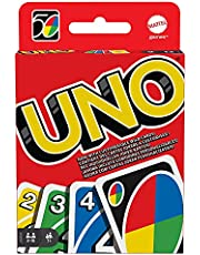 Uno Kartlar, Renk ve Sayı Eşleştirmeli Klasik Kart Oyunu, Mattel Games W2087