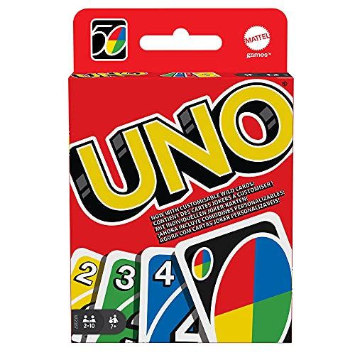 UNO W2087 Card Game - European Version