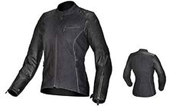 Black ALPINESTARS Ladies RENEE Leather//Textile Motorcycle Jacket Choose Size