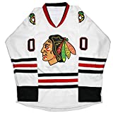 Kobejersey Clark Griswold Jersey #00 X-Mas Christmas Vacation Movie Hockey Jersey Stitched Men Ice Hockey Jerseys (White, S)