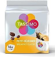 Tassimo Tassimo Café Dosettes 80 Boissons ' Lot De 5 X 16 1