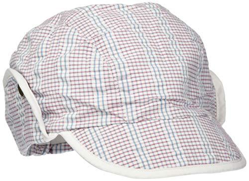 Sterntaler Schirmmütze für Jungen mit Nackenschutz, Alter: 12-18 Monate, Größe: 49, Weiß/Blau