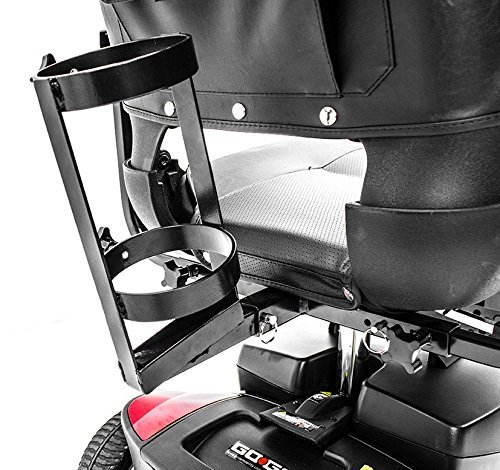 Challenger Mobility JO2H Oxygen Cylinder Tank Holder Accessory Bracket for Most Scooters