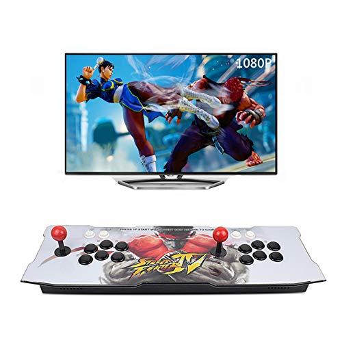 King Bomb nouvelle mise à niveau jeu d'arcade 2650 Pandora Box 7 jeu (160 jeux 3D + 2490 jeux 2D) Jeu vidéo TV Accessoires d'alimentation double bascule HDMI VGA USB Trois modes de sortie