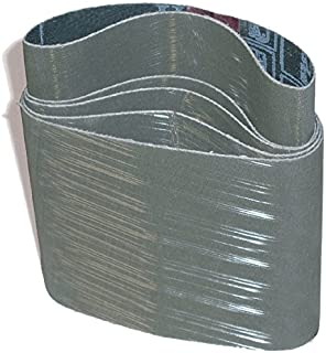 "CS Unitec 42245 PTX TZ Pyramid Sleeve, A45/400 Grit, 3-1/2"" Diameter x 4"" Wide, (Pack of 10)"