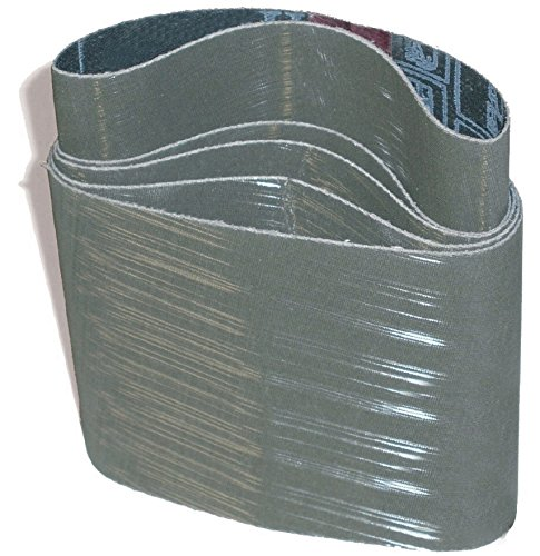 "CS Unitec 42216 PTX TZ Pyramid Sleeve, A16/1200 Grit, 3-1/2"" Diameter x 4"" Wide, (Pack of 10)"