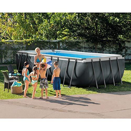Durable Tool Ultra XTR 26356 Schwimmbecken mit rechteckigem Rahmen, 5 x 2,7 x 132 cm
