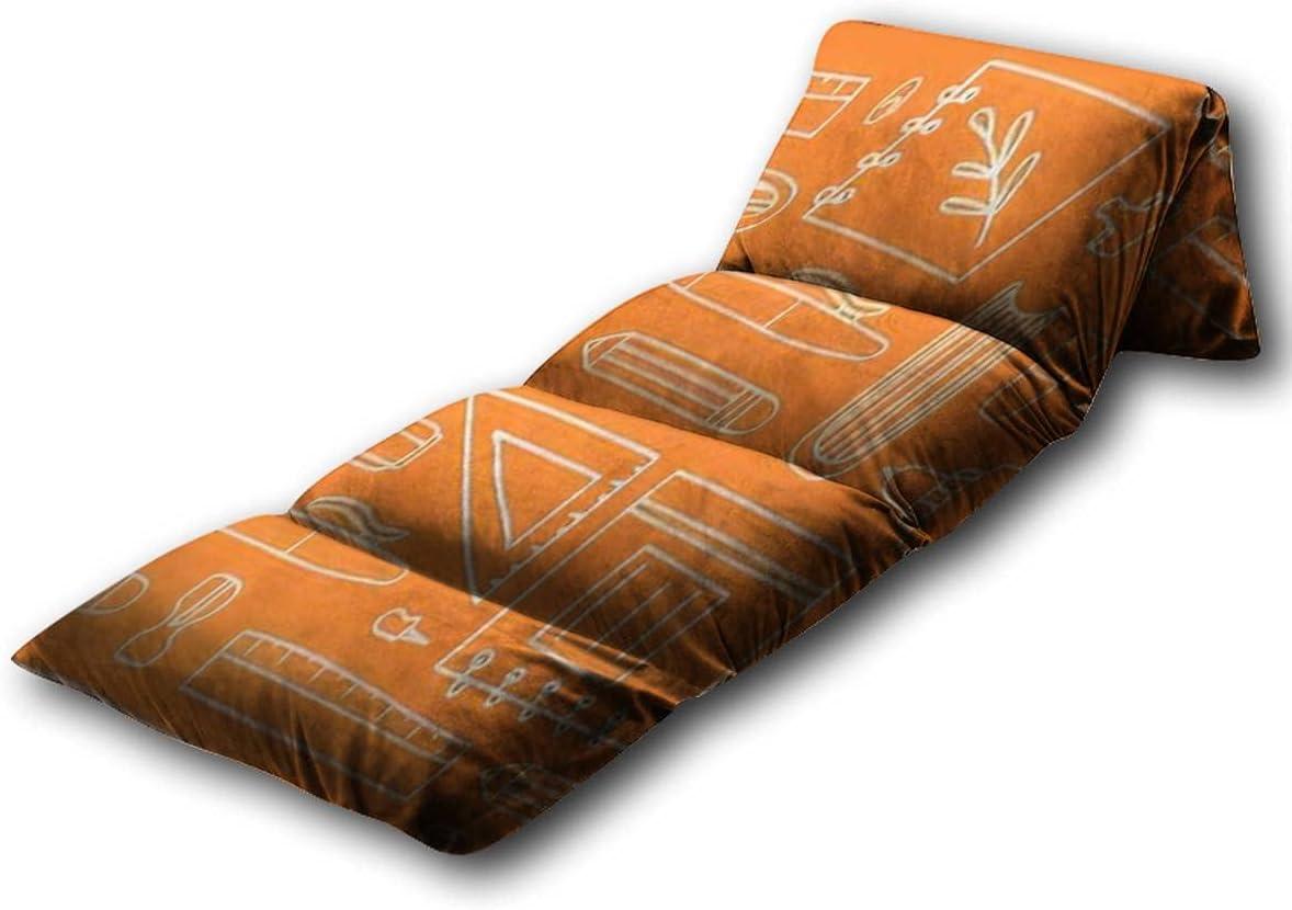 Kids Floor Regular dealer Pillow Award School Supplies Acc Seamless Education Pattern