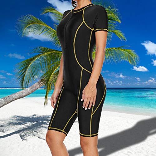 FOLOSAFENAR Traje de Buceo Mujer Traje de Buceo con retención de Forma Ligero Excelente Ajuste, para Mujer(S)