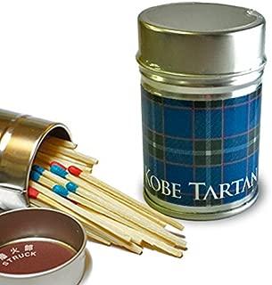 神戸タータン印缶マッチ