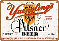 ユングリンのピルスナービール 金属板ブリキ看板警告サイン注意サイン表示パネル情報サイン金属安全サイン