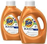 Tide Plus Bleach Alternative Liquid Laundry Detergent - 92 oz - Original - 2 pk