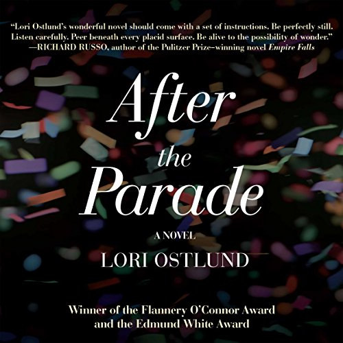 After the Parade audiobook cover art