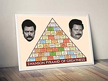 Swanson Pyramid Greatness Limited Poster Artwork - Professional Wall Art Merchandise  More Sizes Available   8x10