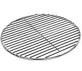 Grillrost Ø 54 cm aus Edelstahl rostfrei und elektropoliert 4mm für Grill rund, Kugelgrill, Feuerschalen Grillschalen Rundgrill