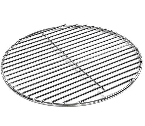 Grillrost Ø 54,5 cm aus Edelstahl rostfrei und elektropoliert 4mm für Grill rund, Kugelgrill, Feuerschalen Grillschalen Rundgrill