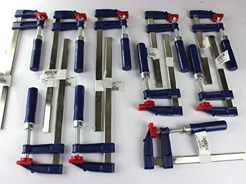 10 x Schraubzwinge Set 150x50 + 250x50 Zwinge Klemmzwinge Einhandzwinge