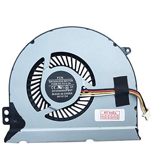 Lüfter/Kühler Fan kompatibel mit Dell Inspiron 14 7447, 14PR-7000, 14p-1748, 14P-1548, 15PD-1548B, 14PR-1848R, Dell P/N: 0562V6