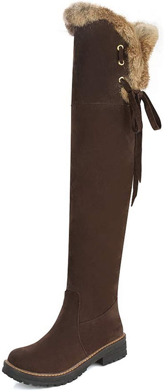 AN DKU02361, Damen Durchgängies Plateau Sandalen mit Keilabsatz, Braun - braun - Größe  37  | Nicht so teuer