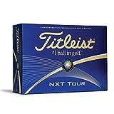 Titleist NXT Tour Golf Balls, White (One Dozen)