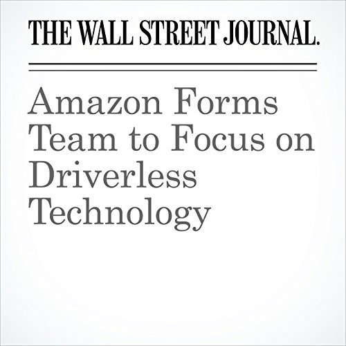 Amazon Forms Team to Focus on Driverless Technology copertina