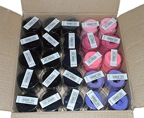 150 x Zopfband Zopfbänder Zopfabbinder Haargummi Posten Set (mit Pink und Rot)