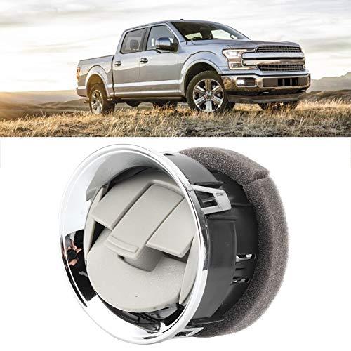 Salida de aire, salida de aire cromada de alta calidad, accesorio interior resistente al desgaste para piezas de automóvil