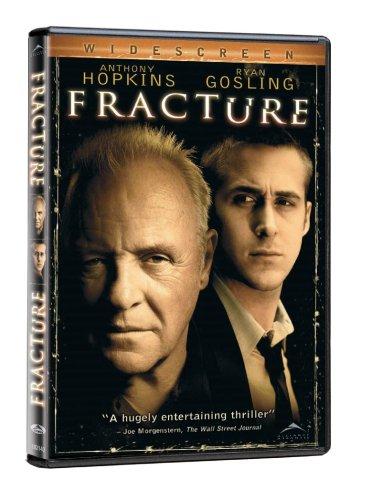 Fracture DVD (2007)- Anthony Hopkins, Ryan Gosling