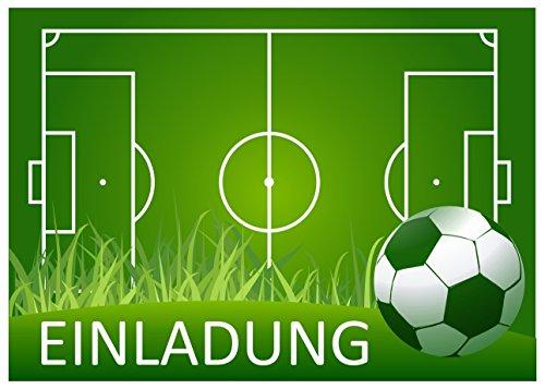 11(+ 1Gratis) Fútbol tarjeta de tarjetas de invitación para fiesta de fútbol, barbacoa Fiesta de cumpleaños o para niños artup