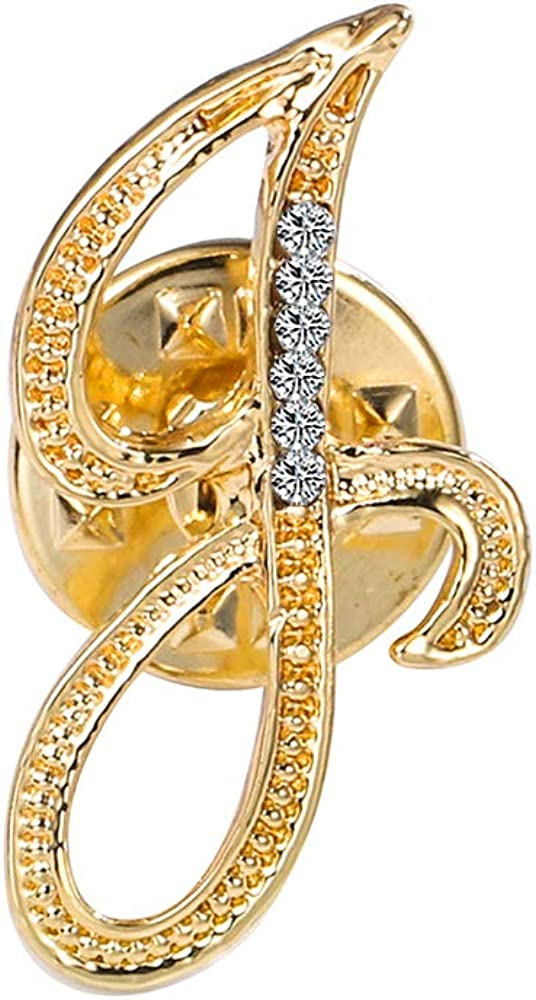 ETHOON Initial Letter Long-awaited Brooch Pin Ranking TOP15 Small Lapel Name Tack P Tie