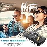 Zoom IMG-1 agptek vivavoce auto bluetooth 4