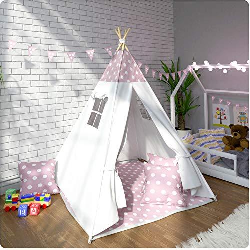 Ricokids Tipi Kinderzelt Spielzelt Indianer Indianerzelt Kinderzimmer Zelt