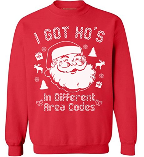Unisex Funny Humor Novelty 2020 Ugly Christmas Santa Claus Sweater for men and women Great top alternative for 2020 christmas pajamas for family Merry Festive Lit Holiday sweater - Women christmas sweater - men christmas sweater Alternative for 2020 ...