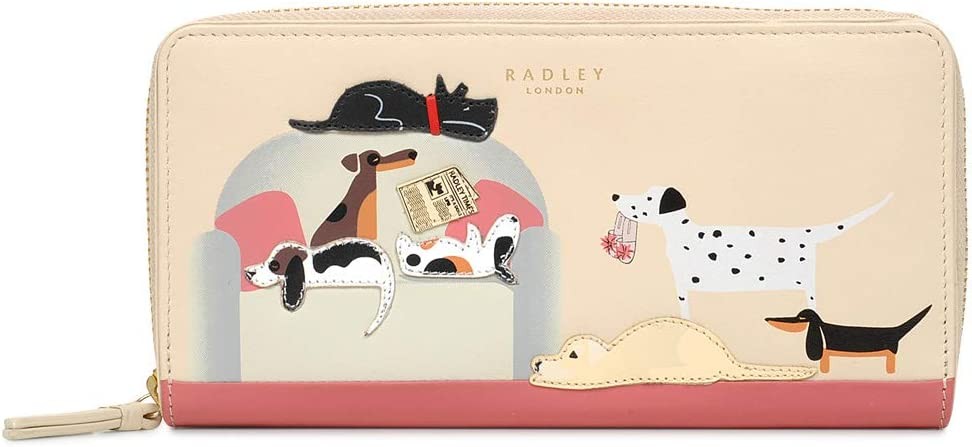 Radley London Womens Friends New color Fees free Zip-Around L Wallet Large