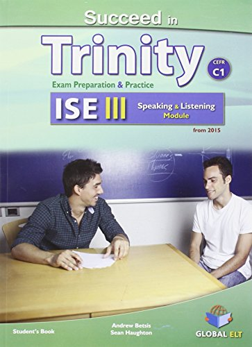 SUCCEED IN TRINITY ISE III-C1 LISTENING AND SPEAKING STUDENTS BOOK