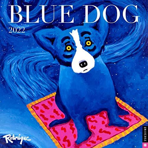 Blue Dog 2022 Wall Calendar