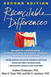 "Self-help book ""Reconcilable Differences"" by Andrew Christensen, Brian Doss, and Neil Jacobson."