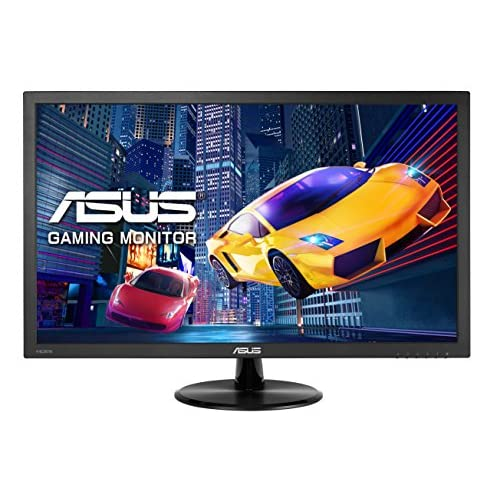 ASUS VP228HE 21.5'' FHD (1920 x 1080) Gaming Monitor, 1 ms, HDMI, D-Sub, Filtro Luce Blu, Flicker Free, Certificazione TUV
