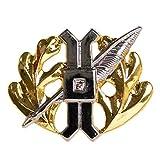 Genuine U.S. Navy (USN) Collar Device: Law Community - Gold