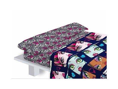 Klaus Herding Juego de sábanas diseño Monster High para Cama de 90 cm