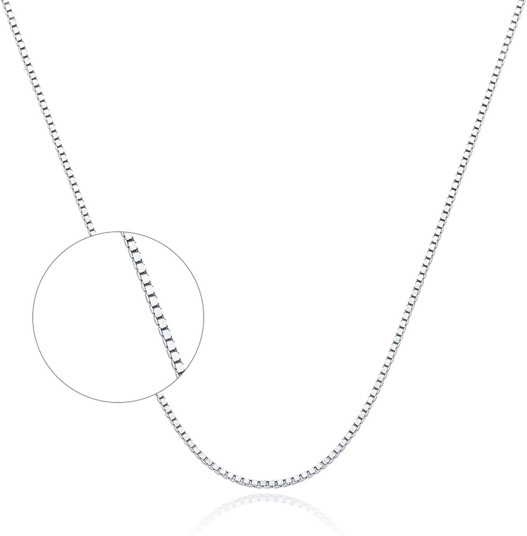 Epinki Bombing new work PT950 Platinum Women Box Outstanding for Necklace Chain Wedd