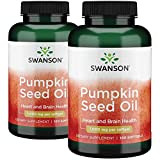 Swanson Pumpkin Seed Oil 1000 Milligrams 200 Sgels 2 Bottles